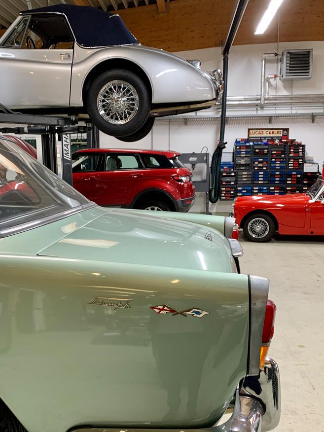 Werkstatt New Landrover / Jaguar