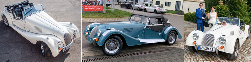 Vermietung Morgan Plus 4
